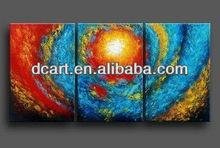 textured canvas art