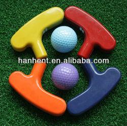 Rubber golf putter