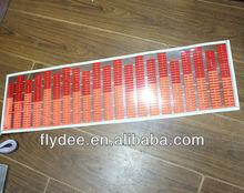 new Hotsale 2012 car led music sticker rhythm light/ ELpanel lamp