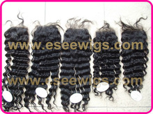 stock 100% peruvian hair lace closures 3.5X4inch,4X4inch,5X5inch