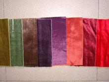 rayon flashing italian cotton velvet fabric for curtain cover