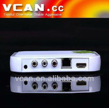 VCAN0410 Google Android 4.0 android 2.3 1080p internet tv box/hd media player/