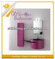 สาวสติกเกอร์ติดผนังห้องน้ำและการตกแต่งผนังรูปลอกสำหรับห้องน้ำ