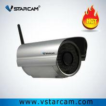 Outdoor Waterproof H.264 CMOS Sensor sd card Wireless IP Camera