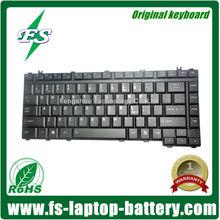 Genuine Original Laptop Computer Keyboard for Toshiba Satellite A10 A15 A20 A25 A30 A40 A100 A105 1400 2400 M30 M50 P20 P30