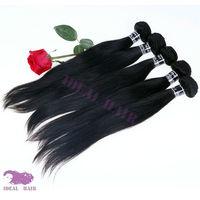 Ideal and KBL virgin brazilian human hair straight