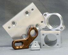 Customize machined aluminum base plate CNC-236