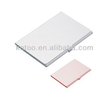 Aluminum business credit card holder case wallet