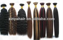 Any length,an color and any texture can available virgin hair bulk