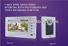 CCTV house security with SD card video intercom door phone