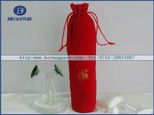 velvet gift bag for wine