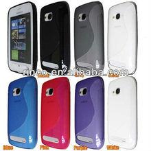 Soft Crystal TPU Gel Silicon Case for Nokia Lumia 710