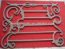 Cast aluminum fence accessories