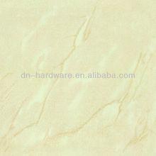 NO. DPT6114 Light yellow polished porcelain tile 500x500