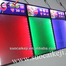 New Fashion ! Acrylic High Quality Led Advertising Board Display