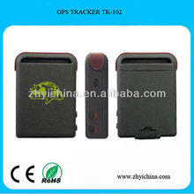 ZY waterproof mini gps tracker with software tk102-2,tk102,tk102b,tk102-2