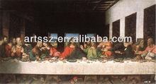 last supper--famous leonardo da vinci paintings