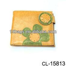 2012 Fashion pu leather leisure lady wallet
