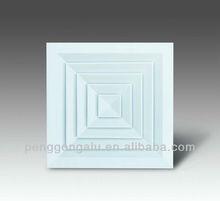 square kitchen aluminum air ventilation