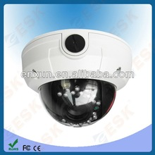 SONY CCD 540 tvl 0.03Lux 4~9mm lens vandalproof outdoor dome camera housing