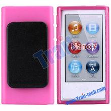 Dropship Available! Black Clip TPU Case for iPod Nano 7