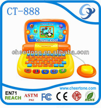 2.7'' inch Color Screen electronic ladder educational games toy , learning toy for baby