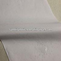 TPR-1018 100%polyester woven bedspread fabric TPU bonded micro peach skin fabric