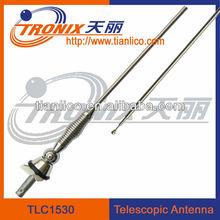 (OEM Factory)Alloy ball antenna signal radio car telescopic am fm antenna TLC1530