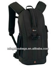 black dslr camera bag/ durbale backpack bag
