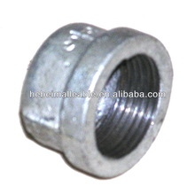 Malleable iron pipe cap Banded