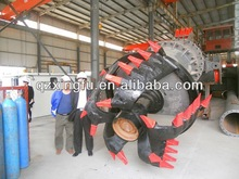Small cutter suction sand dredger vessel