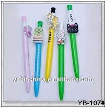 Custom Cartoon Clip Biro Pen