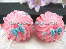 Resin food/cake cabochons/charm/pendants