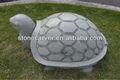 decorativos de tortuga de talla de piedra