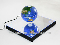 Hot sale floating world globe, levitating and rotating magnetic globe, W8023