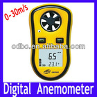 Free Shipping Digital Anemometer ,Digital Wind Speed Meter Gauge Sport Anemometer handy NTC Temperature GM8908