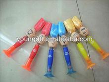 Bobble head ball pen