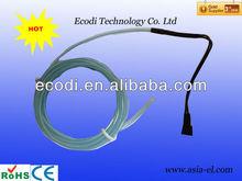 multi color el neon flexible sound activated el wire outdoor 4.0mm