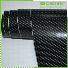 Glossy carbon fiber vinyl carbon film with 4D effects!QD1401