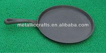 """cast iron 11.5"""" Round Griddle & Underliner"""