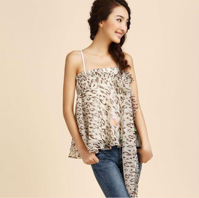 Fashion sheer chiffon blouse chinese clothing factory
