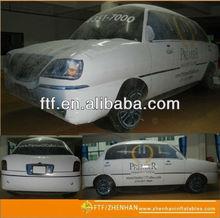 pvc helium advertising inflatable car