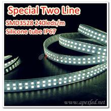 APEX Zhongshan LED Lighting 3528 120pcs 5m IP67 led white strip german