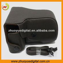 Dslr slr digital pu leather camera cover/pouch/sleeve bag for canon eos camera bag for Sony NEX7 NEX