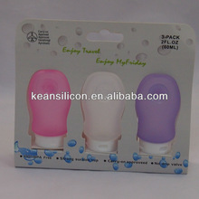 StylishTravel Size Toiletries /Mini Silicone Travel Bottles