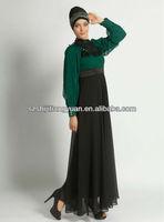 SJ1150 custom made chiffon lace sexy arabic women clothing