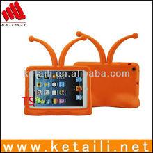 Cute Kids Orange Television Foam Case Cover With Antenna For Mini iPad