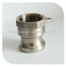 stainless steel flat face hydraulic quick couplings