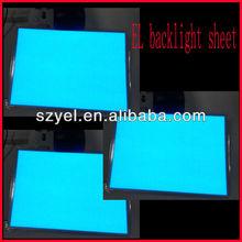 Factory price el programm flashing on/off flashing el backlight sheet
