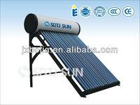 SDTJ heat pipe tube pressurized solar water heater system
